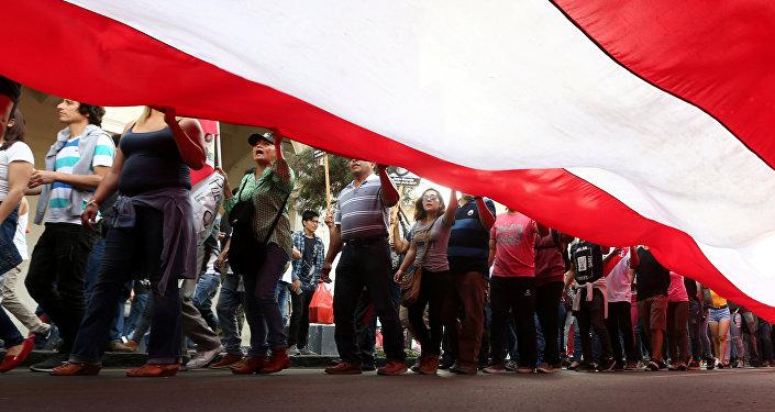 Una movilización contra indulto a expresidente peruano Fujimori