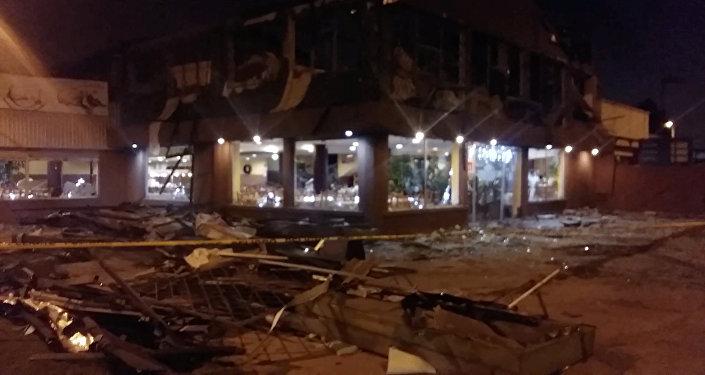 Explosión de restaurante en Quito