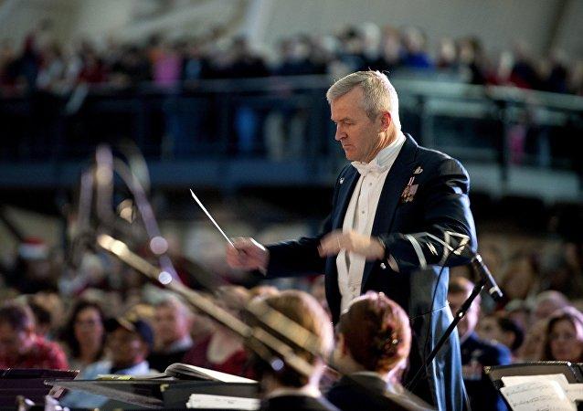 Un director de orquesta