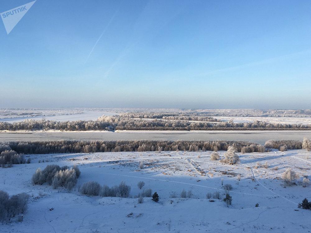 Pero seguramente no se va a Siberia para ver ciudades 'normales', sino vastas llanuras de nieve, ríos congelados y bosques invernales