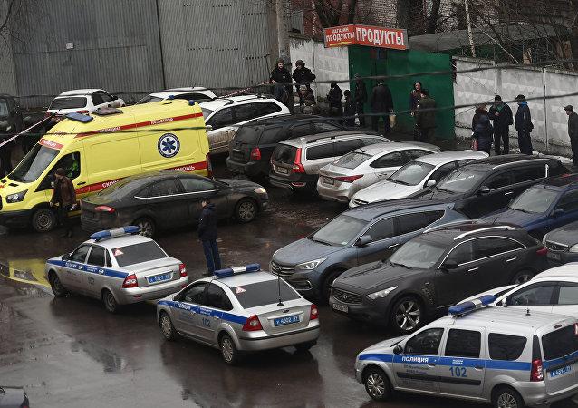 Situación en una fábrica en el sureste de la capital rusa donde un individuo retuvo a varias personas como rehenes