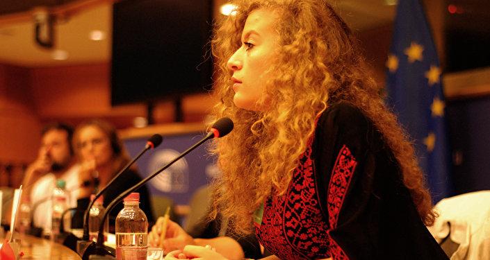 Ahed Tamimi, activista palestina