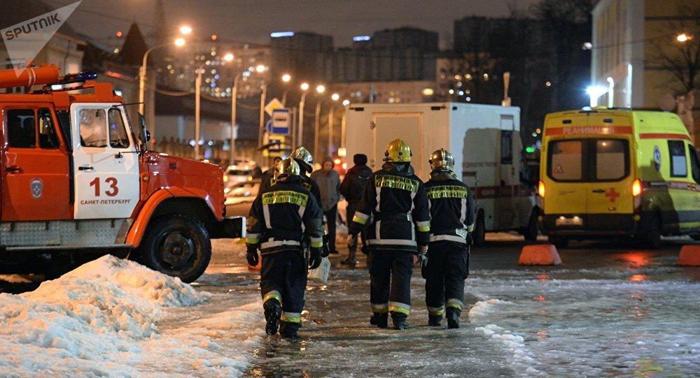 Explosión en un supermercado en San Peterrsburgo