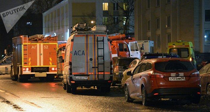 Una explosión en un supermercado en San Petersburgo