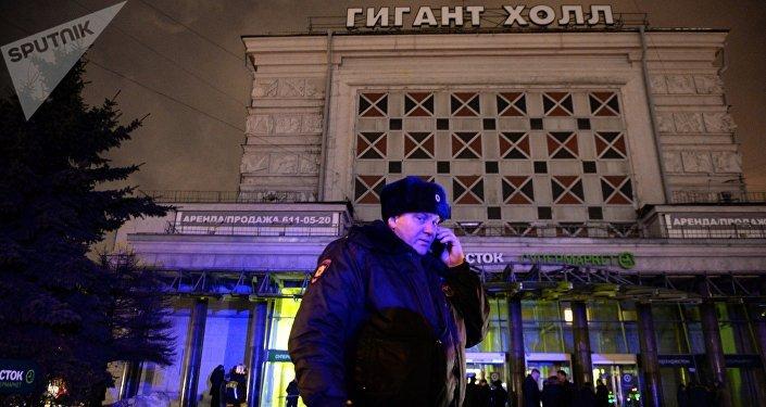 La explosión en un supermercado en San Petersburgo