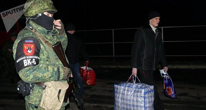 Canje de presos en Ucrania