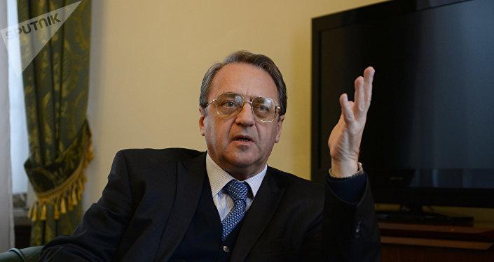 Mijaíl Bogdánov, viceministro ruso de Exteriores