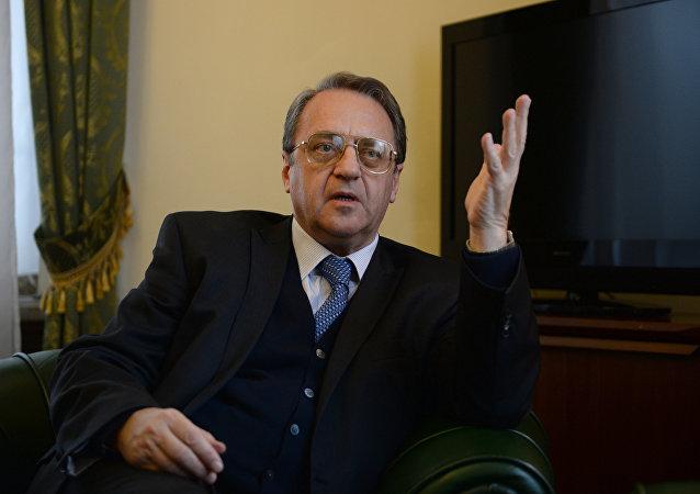Mijaíl Bogdánov, viceministro ruso de Exteriores (archivo)