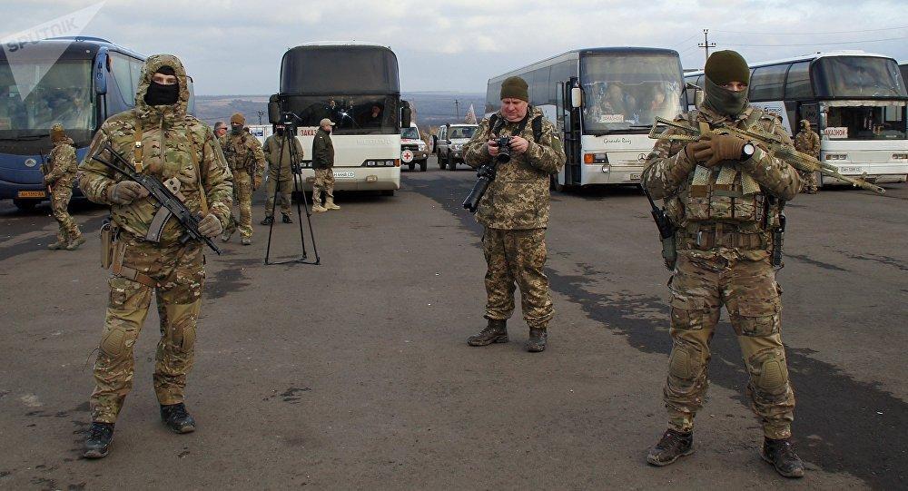 Canje de prisioneros entre Kiev y Donbás