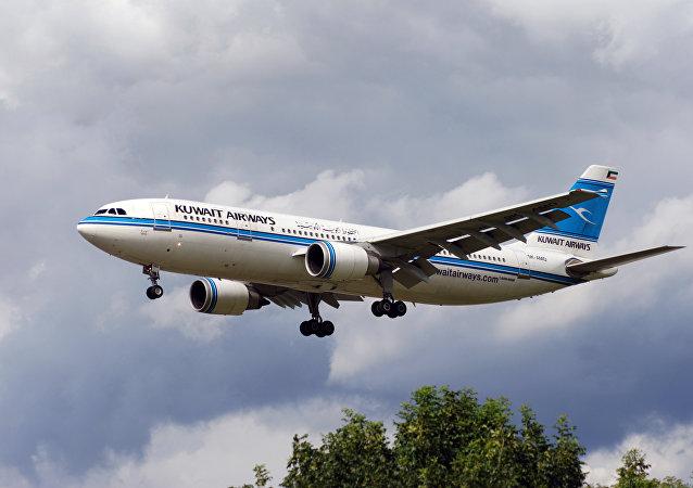 Un avión de Kuwait Airways