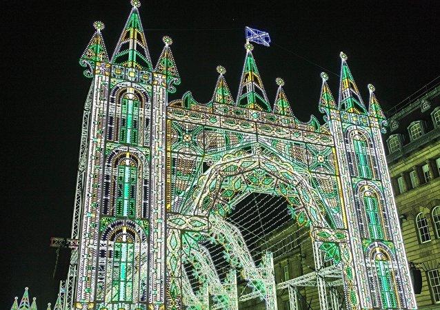 La Navidad en Edimburgo, Escocia