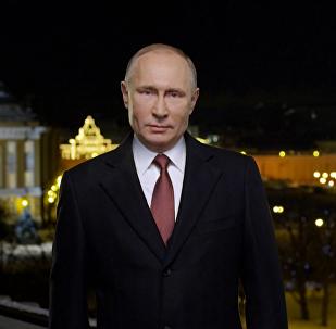 El presidente ruso Vladímir Putin envía un mensaje de felicitación a todos sus conciudadanos rusos