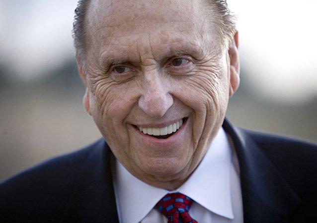 Thomas Monson, líder de la iglesia mormona