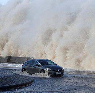 Una tormenta sacude el Reino Unido