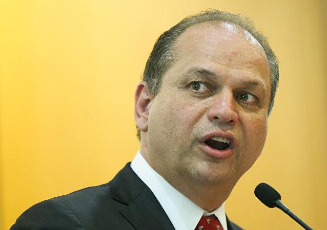 Ricardo Barros, el ministro de Salud de Brasil