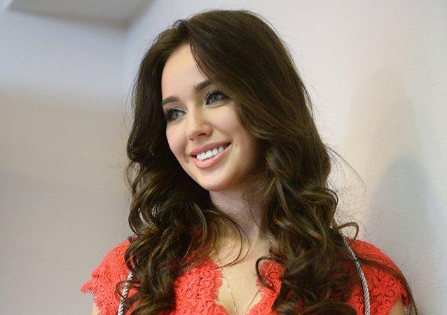 Anastasía Kostenko, modelo y representante de Rusia en el certamen Miss Mundo 2014