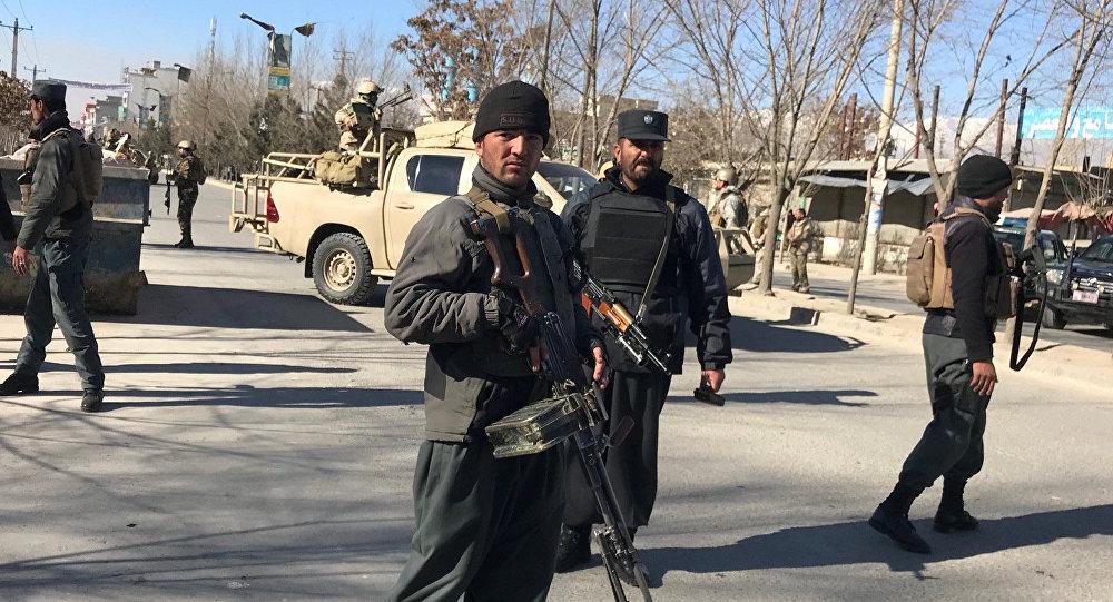 Policía en Kabul (archivo)