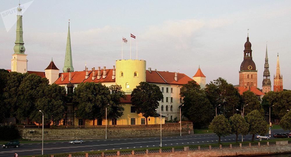 Riga, la capital de Letonia (archivo)