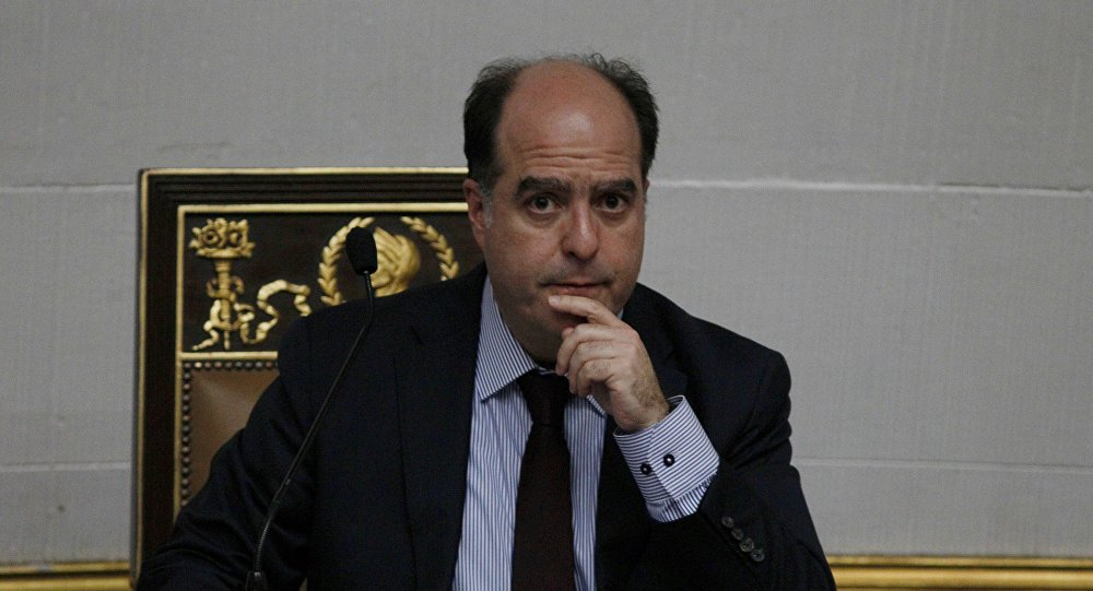 Julio Borges, presidente de la Asamblea Nacional de Venezuela (archivo)