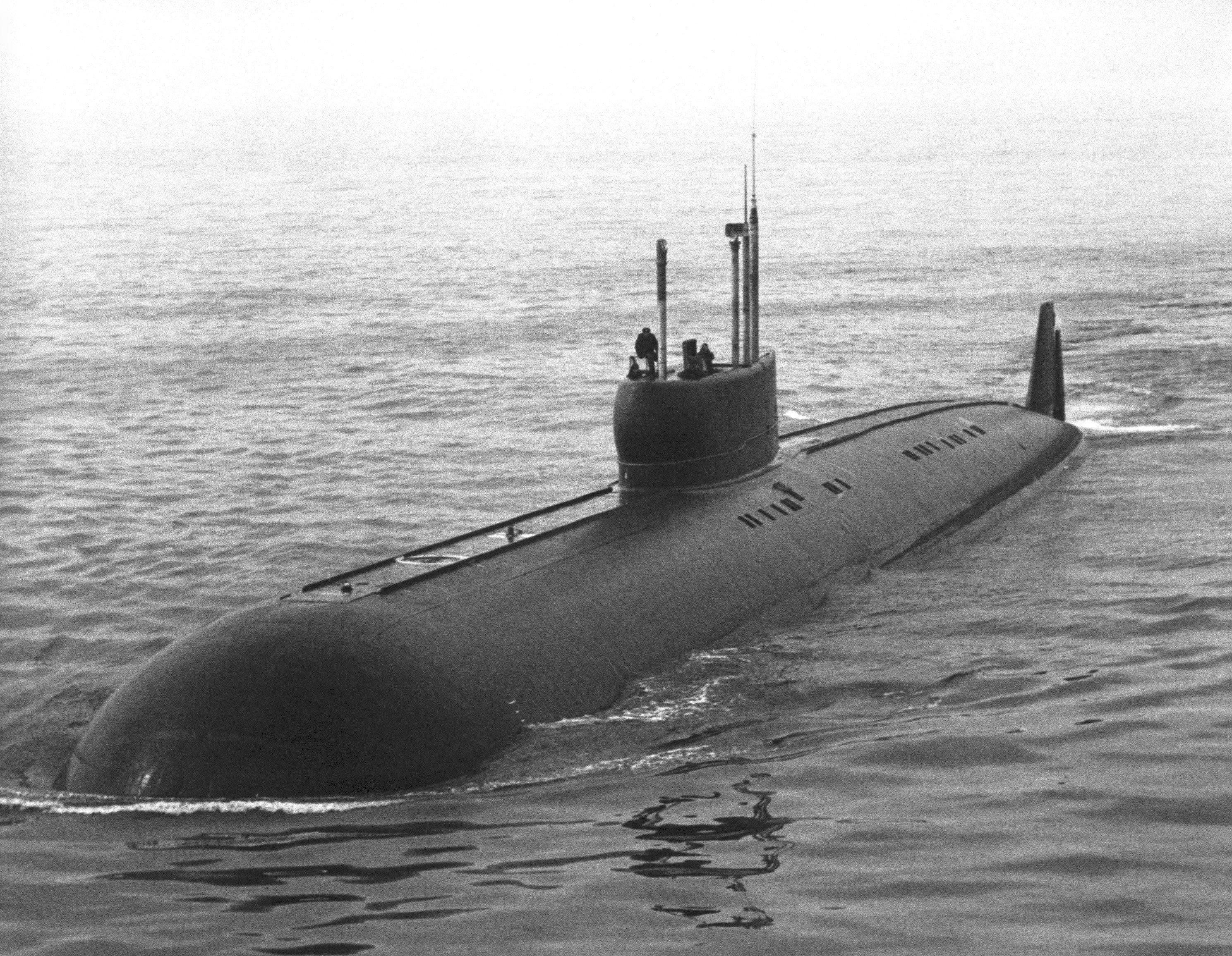 K-222, submarino soviético (archivo)