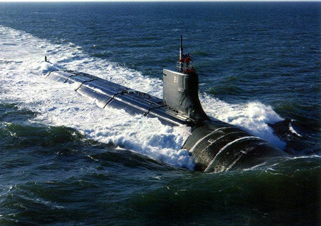 Submarino estadounidense USS Seawolf (imagen referencial)