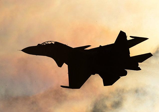 Un caza Su-30
