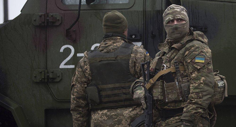 Militares ucranianos (imagen referencial)