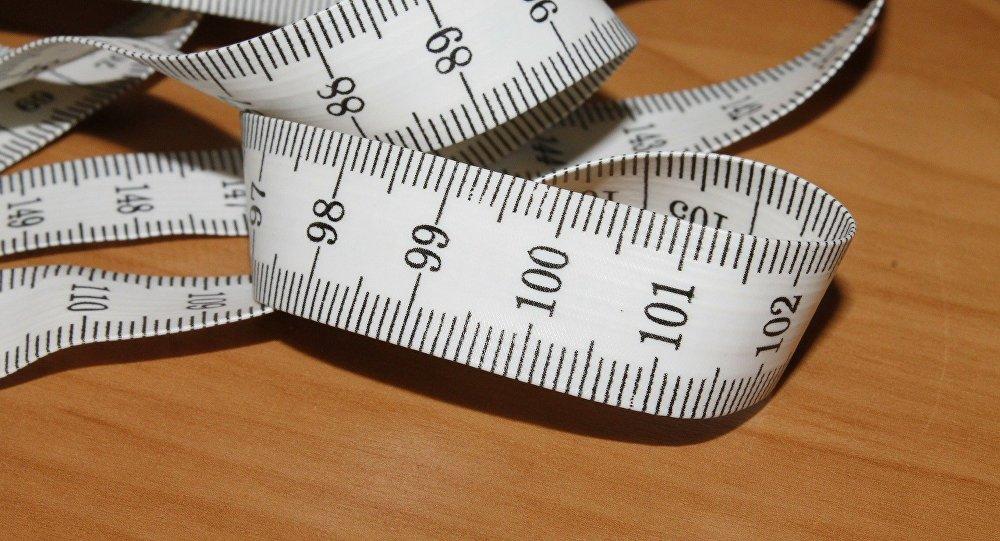 una cinta de medir