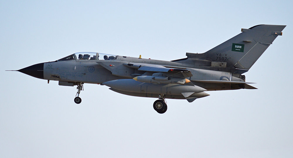 Panavia Tornado saudí (archivo)