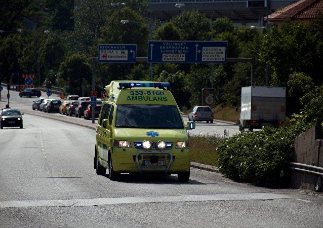 Ambulancia sueca (imagen referencial)