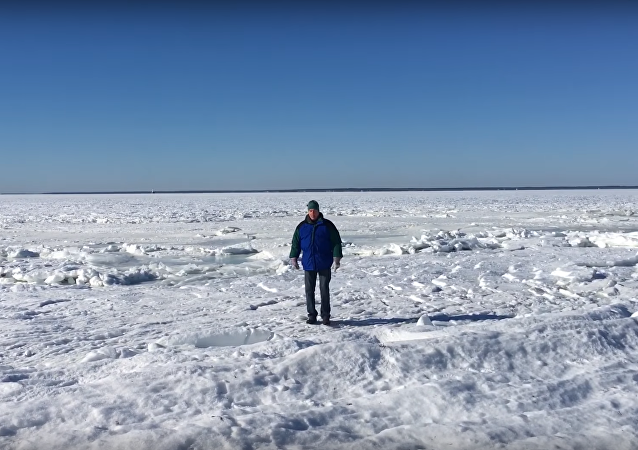 ¿Caminar sobre el océano Atlántico? ¡Muy fácil!