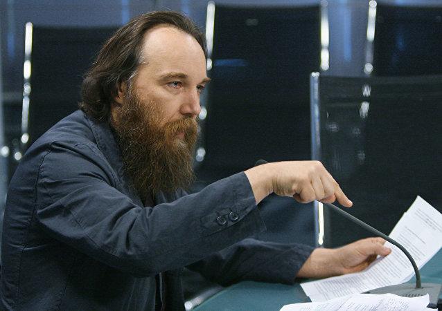 El filósofo, escritor y sociólogo ruso Alexandr Duguin