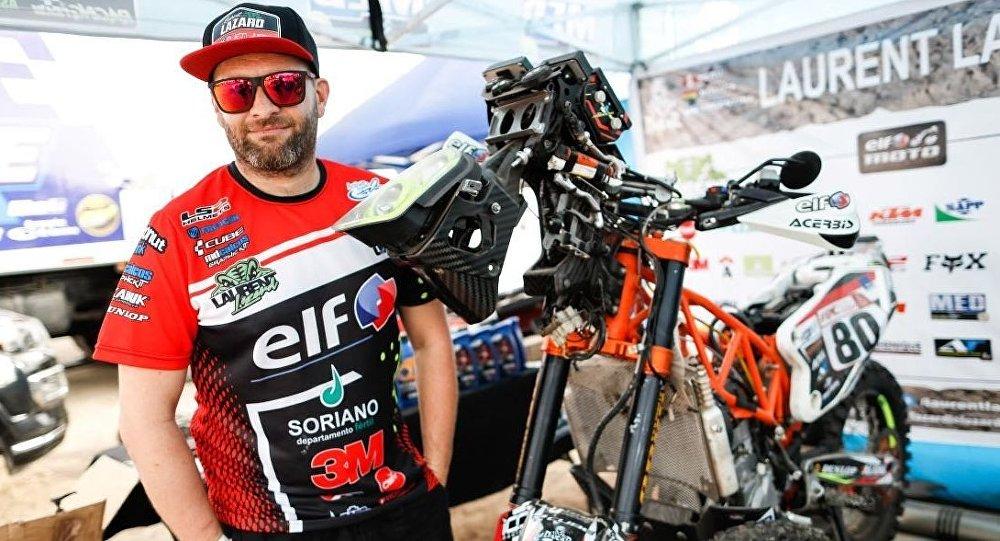 El piloto leyenda del Rally Dakar Laurent Lazard