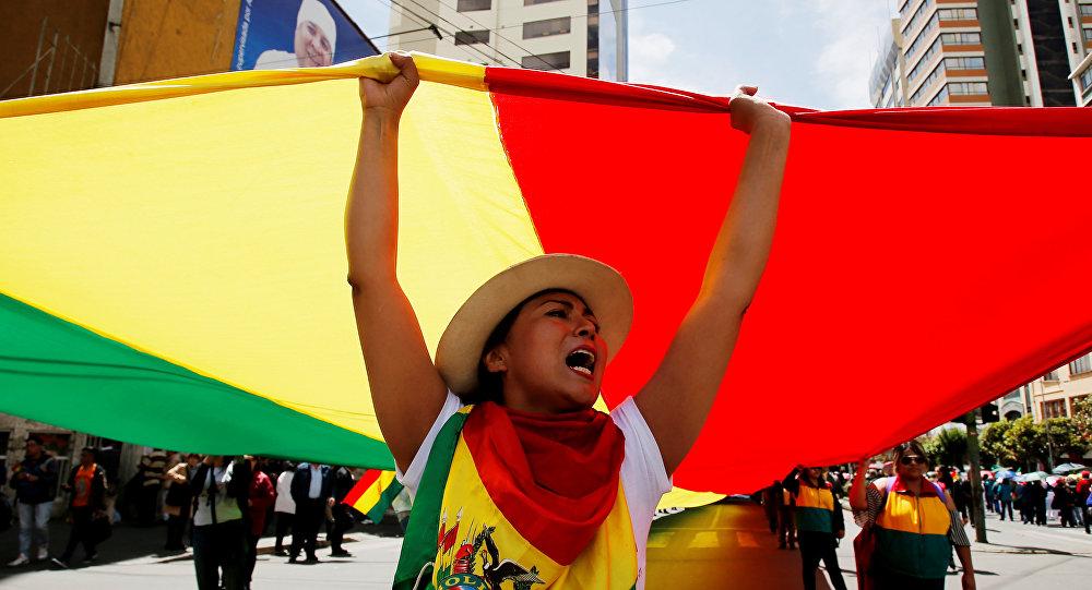 Protestas en Bolivia (Archivo)