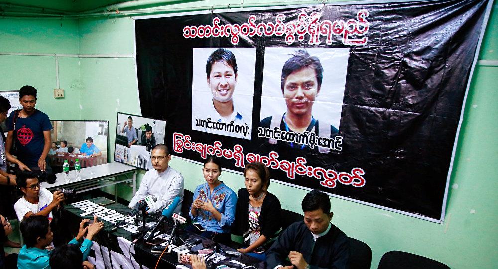 Periodistas de Reuters imputados en Birmania por vulnerar el