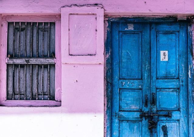 Una puerta cerrada
