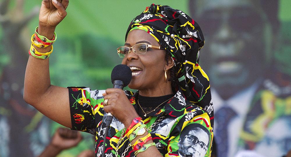 Grace Mugabe, la ex primera dama de Zimbabue