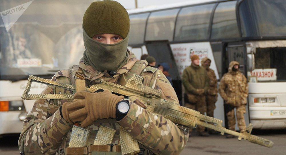 Un militar ucraniano (archivo)