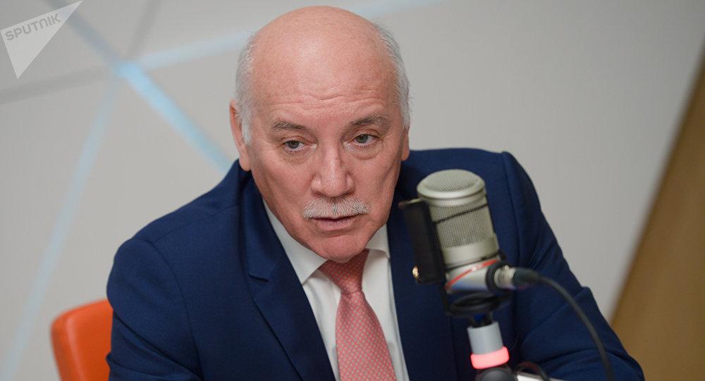 Eladio Loizaga Caballero, ministro de Exteriores de Paraguay, durante una entrevista con Sputnik