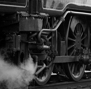 Un tren se va