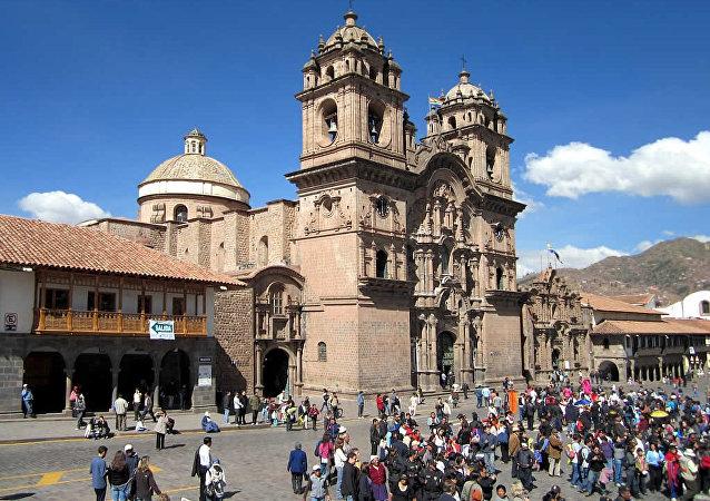 La catedral de Cuzco, Perú