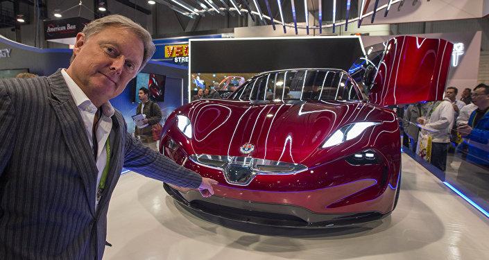 EMotion, automóvil eléctrico de la empresa Fisker