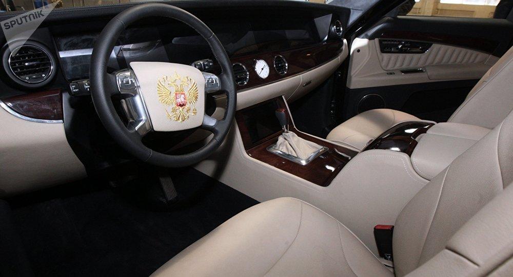 El automóvil presidencial ruso Kortezh