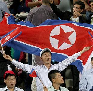 Hinchas norcoreanos (archivo)