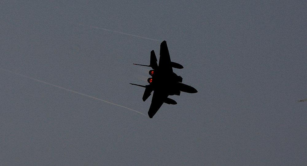 Avión F-15 (archivo)