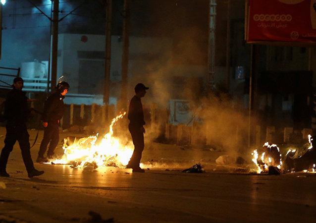 Las protestas antigubernamentales en Túnez