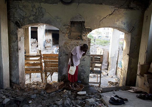 Situación En Haití tras el terremoto del 12 de enero de 2010 (archivo)