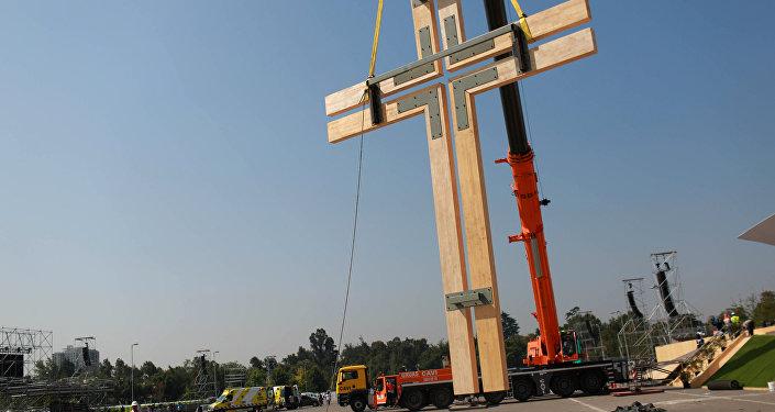 Preparaciones para la visita del Papa Francisco a Chile