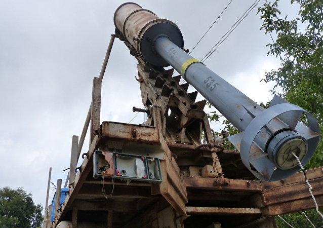 Elefante, el misil sirio