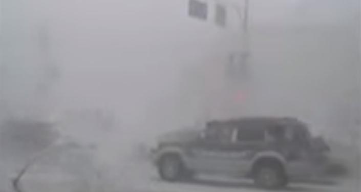 Una niebla anómala cubre Siberia a 57 grados bajo cero